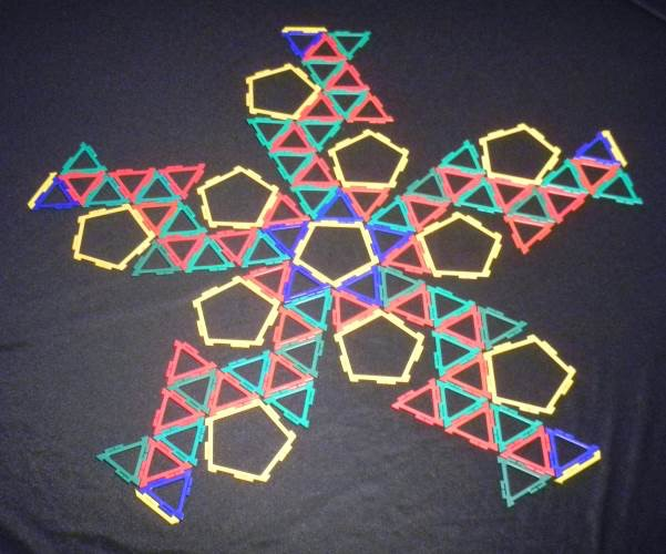 Archimedean Solid Net