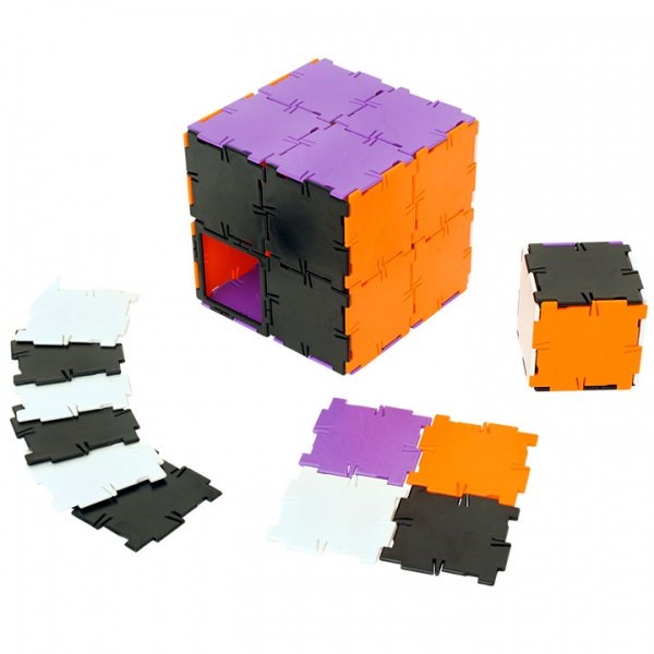 Polydron 40 Squares - New Colours