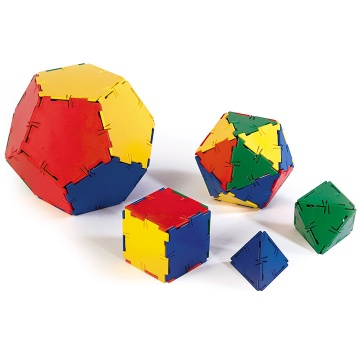 Polydron Platonic Solids Set