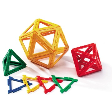 Polydron Frameworks 160 Equilateral Triangles