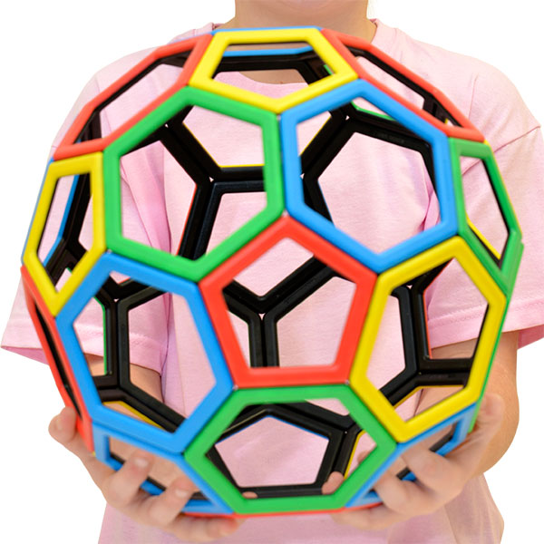 Magnetic Polydron Carbon 60 Set
