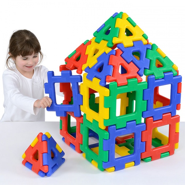 Giant Polydron Set