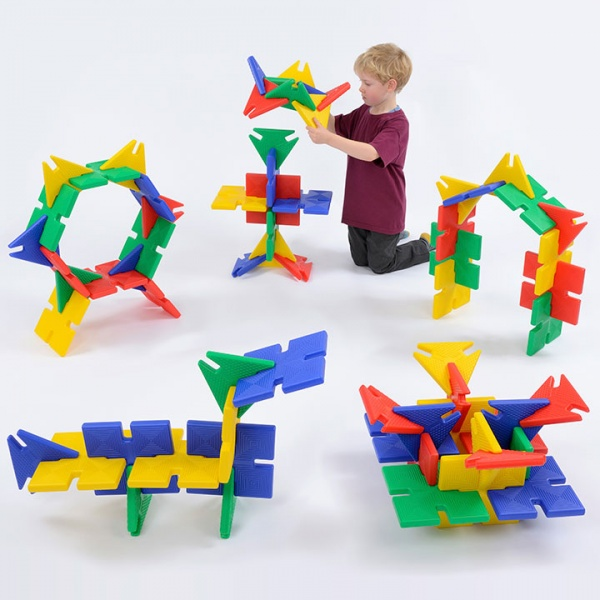 Giant PolyPlay 72 Pieces