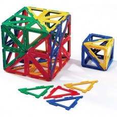 Polydron Frameworks 100 Right Angled Triangles