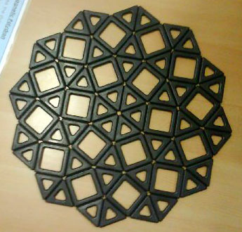 Magnetic Polydron Tessellation