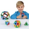 Magnetic Polydron Platonic Solids Set