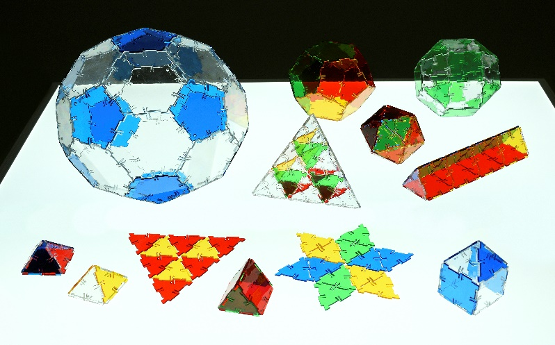 Crystal Polydron Light Table