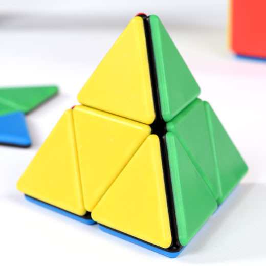 Solid Magnetic Polydron Large Tetrahedron