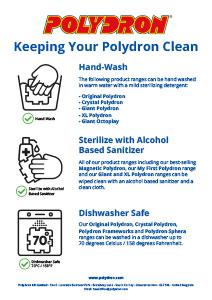 Keeping Your Polydron Clean