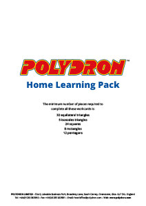 Polydron Home Learning Pack