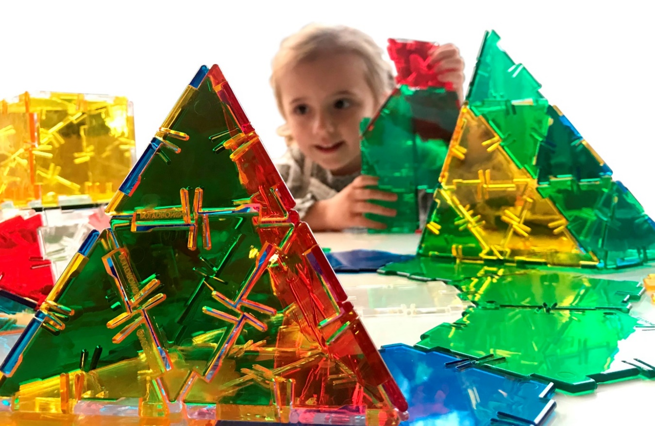 Crystal Polydron - Great for seeing within shapes