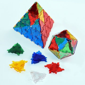 Crystal Polydron Equilateral Set