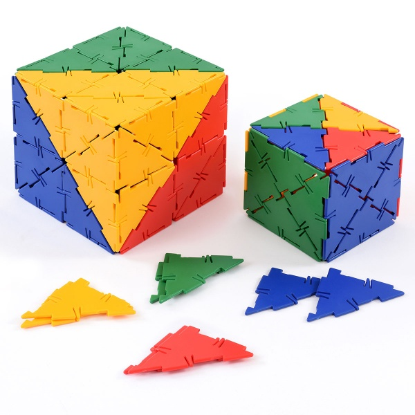 Polydron 80 Right Angle Triangles