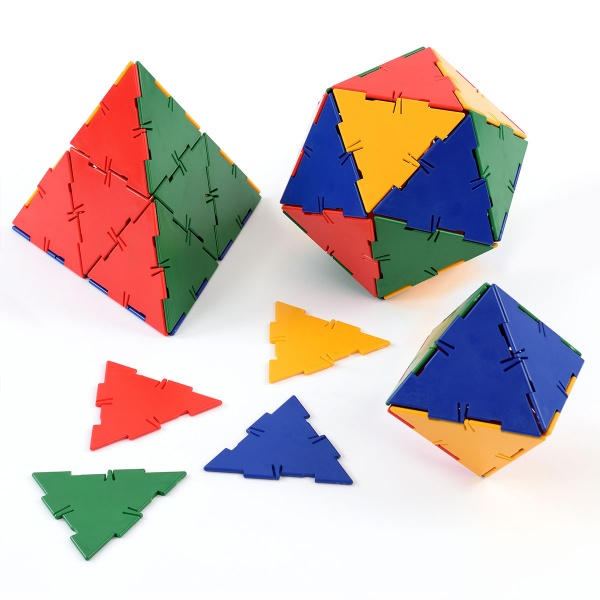 Polydron 50 Large Equilateral Triangles