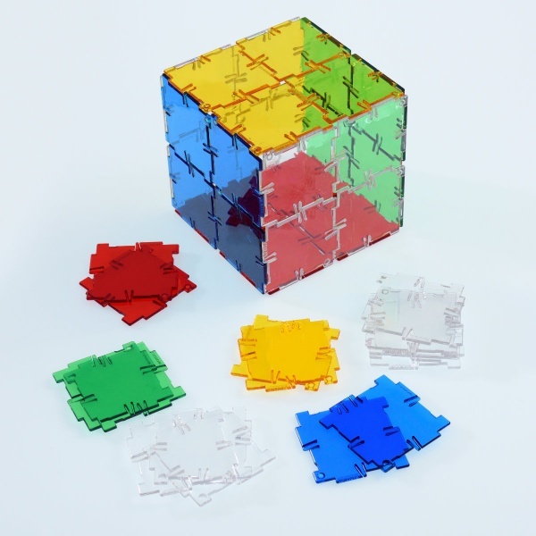 Crystal Polydron Square Set
