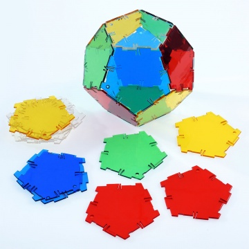 Crystal Polydron Pentagon Set