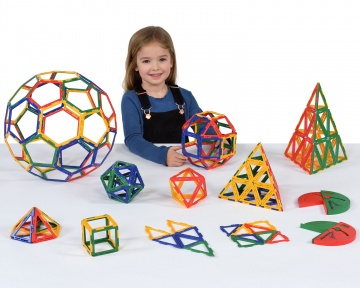 Polydron Frameworks Geometry Set