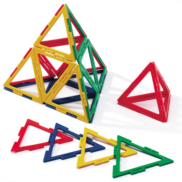 Polydron Frameworks 60 Large Equilateral Triangles