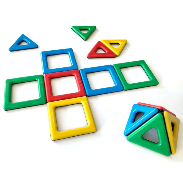 Magnetic Polydron Student Set