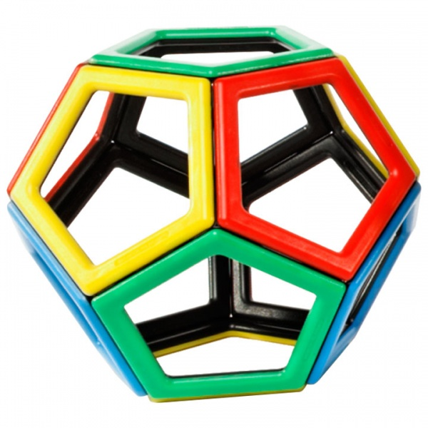 Magnetic Polydron Pentagon Set
