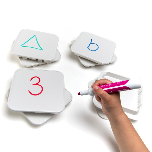 Giant Polydron Clip-In Write On-Wipe Off Panels Set