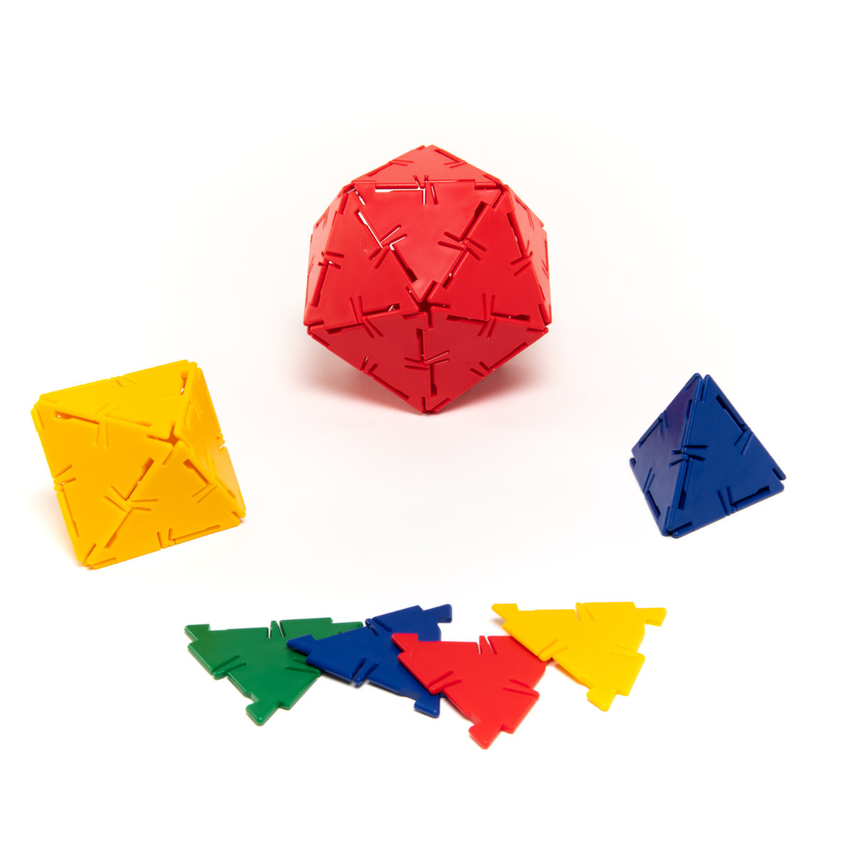 Polydron 100 Equilateral Triangles