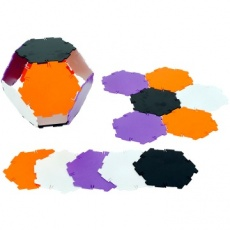 Polydron 20 Hexagons - New Colours
