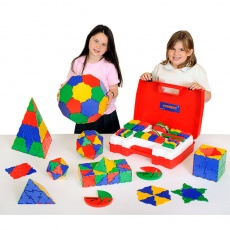 Polydron School Geometry Set