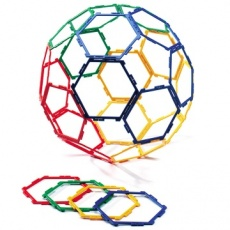 Polydron Frameworks 30 Hexagons