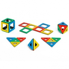Magnetic Polydron Set