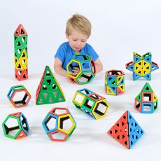 Magnetic Polydron School Set