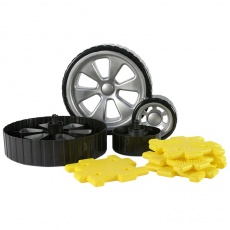 Giant Polydron Add-on Wheels Set