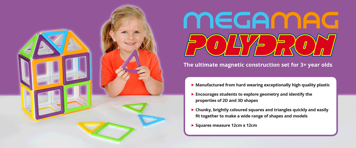 Polydron - Build Geometric 3D Construction Shapes in Primary Schools
